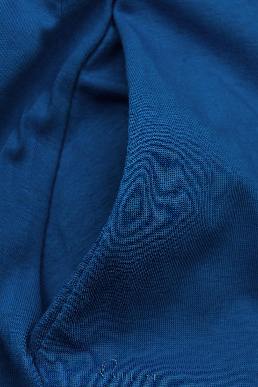 Farmerkék színű ruha rátéttel SUMMER