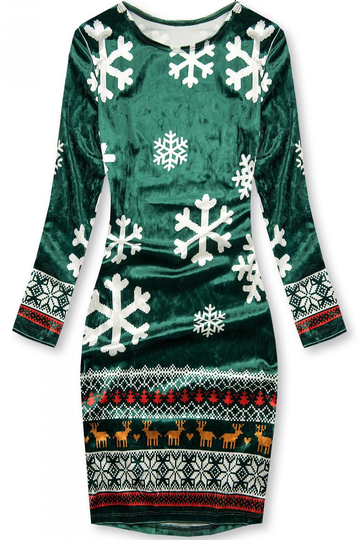 Zöld színű ruha SNOW
