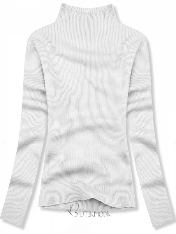 Fehér színű rövid garbó