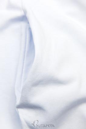 Fehér színű ruha rátéttel SUMMER