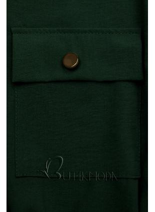 Sötétzöld színű ingruha
