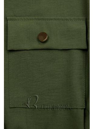 Khaki színű ingruha