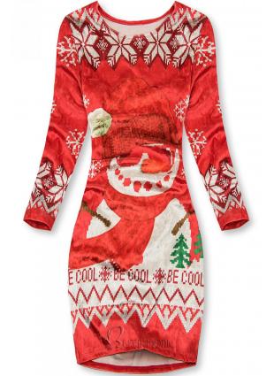 Bársony ruha BE COOL