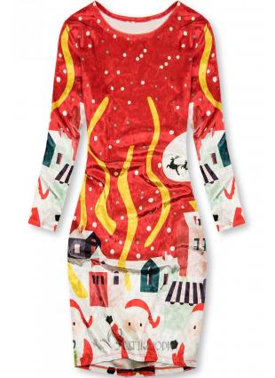 Piros színű ruha Christmas Time