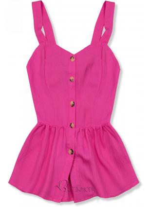 Rózsaszínű nyári top
