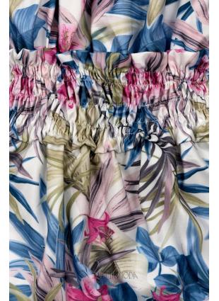 Kék és rózsaszínű ruha Serena/O'la Voga
