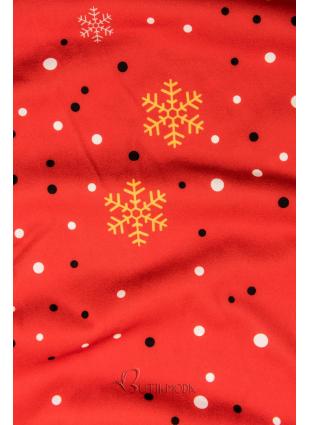 Piros színű ruha Enjoy Christmas