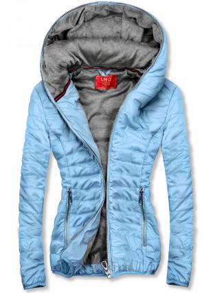 Kék színű sportos dzseki