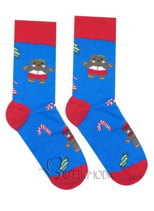 Karácsonyi mézeskalács zokni