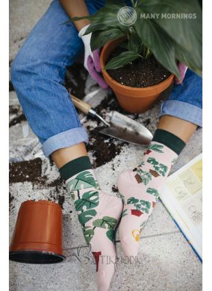 Many Mornings Növénykedvelő zokni